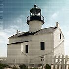 Cabrillo Lighthouse at Point Loma by sunrisern