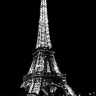 Eiffel Tower by Night - Paris by Julien Delebecque