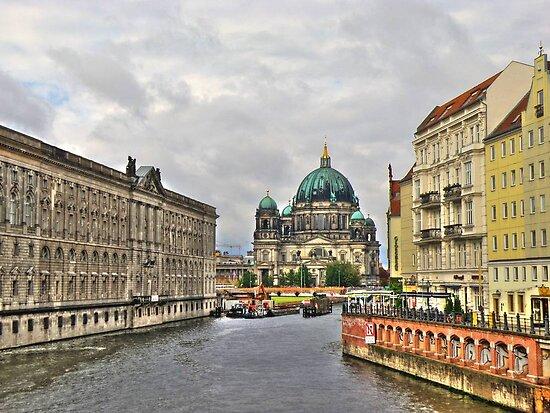 Berliner Dom Germany by pdsfotoart
