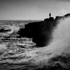 French Atlantic Coast - Storm by Julien Delebecque