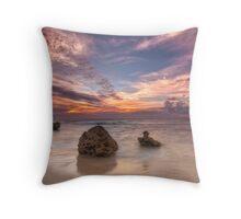 Bennion beach Throw Pillow