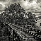 Gundagai Rail Bridge by rudolfh