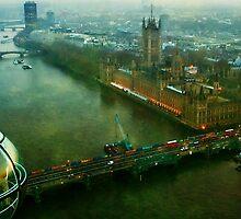 Wheel-Eye-View, London by Erin Guest