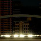 Train crosses Merivale Rail Bridge by GiulioSaggin