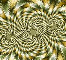 Swirl Fractal 3 by fractalposter