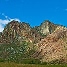 Folding mountains of the Cape - Montagu, Cape, South Africa by Fineli