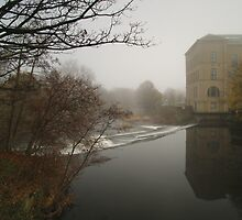 River Aire & New Mill by WatscapePhoto
