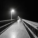 lonely pier walk by kathy s gillentine