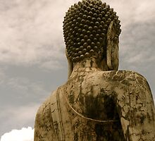 Sitting Buddha #1 by dimpdhab