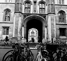 Bikes at Kings College by kilncroft