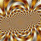 Swirl Fractal 1 by fractalposter