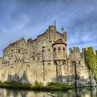 Castle in Gent by skyfish