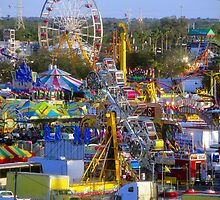 Chaos at the state fair by David Lee Thompson