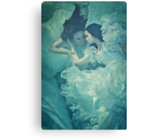 OCEANIC FAIRYTALES - Meeting the bride Canvas Print