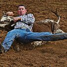 Steer Wrestler by Ian English