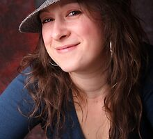 Sam with hat in colour by LisaRoberts