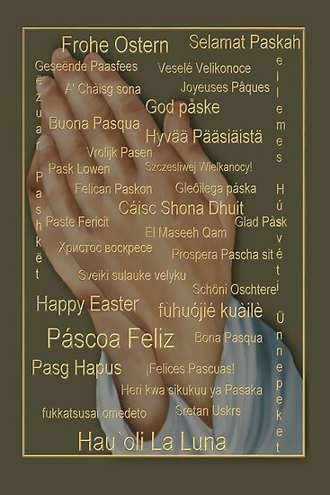 Happy Easter From Around The World (languages) by Lisa  Weber