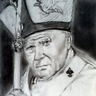 Pope John Paul II by jikpe