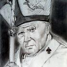 Pope John Paul II by jikpe