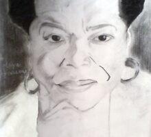 maya angelou charcoal sketch by jikpe