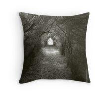 Darkened Corridoor - Cape Paterson Tea Trees Throw Pillow