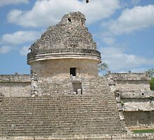 Chit-Chen-Itza Astrology Tower by BIGKB1000