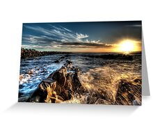 Magic Sunset Greeting Card