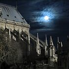 Full Moon in Paris by William Mainvis