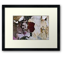 found collage RB43 Framed Print