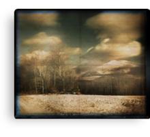 Through the pinhole #1 Canvas Print