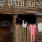 Bath house by Linda Sparks