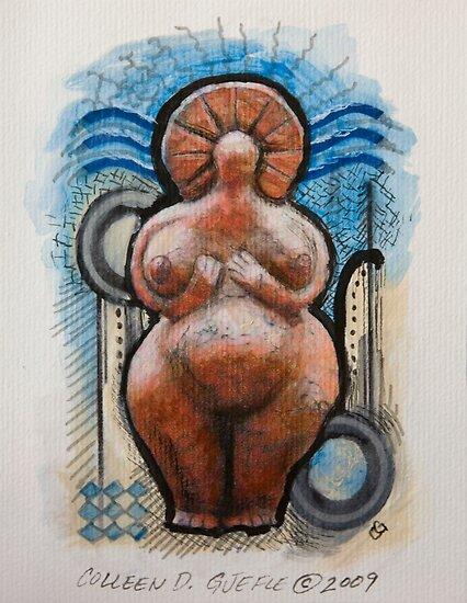 Little Fat Goddess by Colleen D. Gjefle