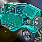 Model A Ford by Bob Hortman
