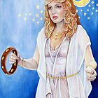 Stevie Nicks of Fleetwood Mac by whiterabbitart