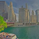 Chicago River by doctorphoto