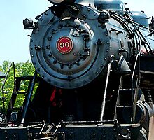 Great Western 90 Locomotive by Susan Savad