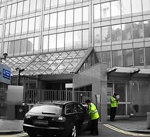 New Scotland Yard by Al Bourassa