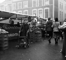 Market In The Mist by Pepijn Sauer