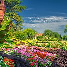 Lincoln Sunken Gardens - HDRI Style by doctorphoto