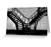 Escaliers a Paradis/ Stairway(s) to Heaven Greeting Card