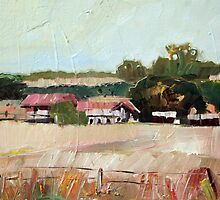 Warwick Farm Study by Paul  Milburn
