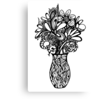 Valentines Vase Canvas Print
