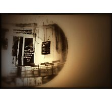 As I sit here with my coffee, I remember that time in Paris when we........ Photographic Print