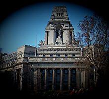 Mariners' Memorial, London by Al Bourassa