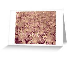 Exquisite Sepia Image 1 + Parameter Greeting Card