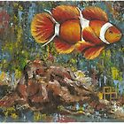Clown Fish by Pamela Plante