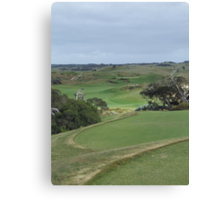 The National - Moonah - 4th Hole Canvas Print