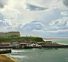 Whitby looking towards Sandsend  by Graham Clark