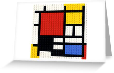 If Mondrian had Lego.... by Addison