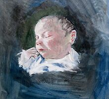 Erin - just born by May Hege  Rygel